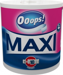 Ooops! Maxi (500 sheets) – Household paper towel (2-ply)