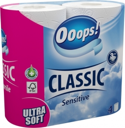 Ooops! Sensitive – toilet paper (3-layer)
