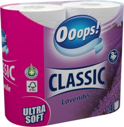 Ooops! Classic Lavender – toilet paper (3-layer)