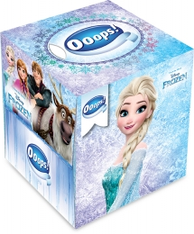Ooops! Frozen boxed handkerchief 54 pieces (3-ply)