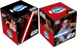 Ooops! StarWars boxed handkerchiefs 54 pieces (3 ply)