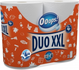 Ooops! Duo XXL (110 sheets) - Household paper towel (2-ply)