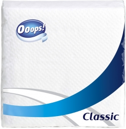 Ooops! Classic – Serviette (1-layer)