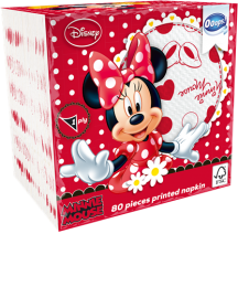 Ooops! Minnie Mouse 80 pieces patterned napkin (1-ply)