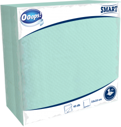 Ooops! Smart 45 pieces unicolor napkin (1-ply)