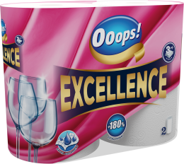 Ooops! Excellence (75 sheets) – Household paper towel (3-ply)