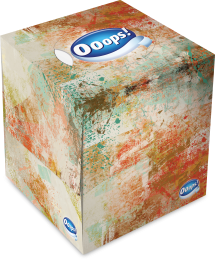 Ooops! Classic Abstract – boxed papertissue 54 (3-ply)