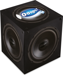 Ooops! Classic Speaker – boxed papertissue 54 (3-ply)