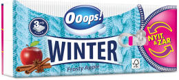 Ooops! WINTER - paper tissue (3-ply)
