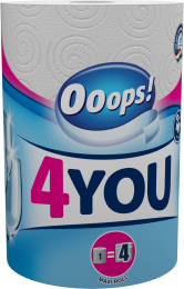 Ooops! 4YOU (200 sheets) – Household paper towel (2-ply)