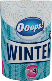 WINTER – Household paper towel (200 sheets, 2-ply)