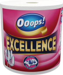 Ooops! Excellence (250 sheets) – Household paper towel (3-ply)