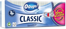 Ooops! Sensitive – paper tissue (3-ply)